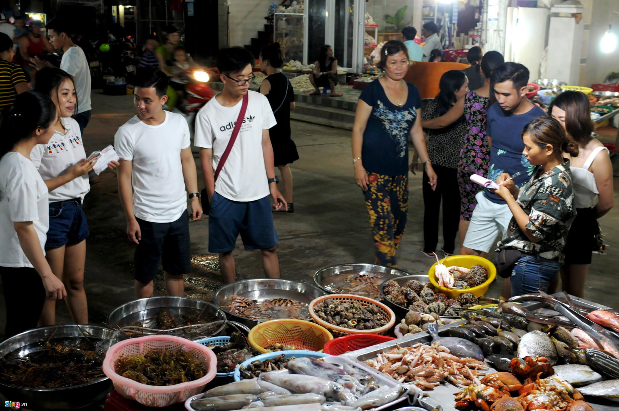 chợ hải sản đảo lý sơn