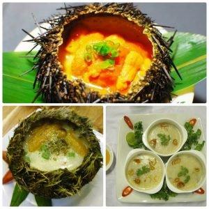 Món ăn sáng ở đảo Lý Sơn