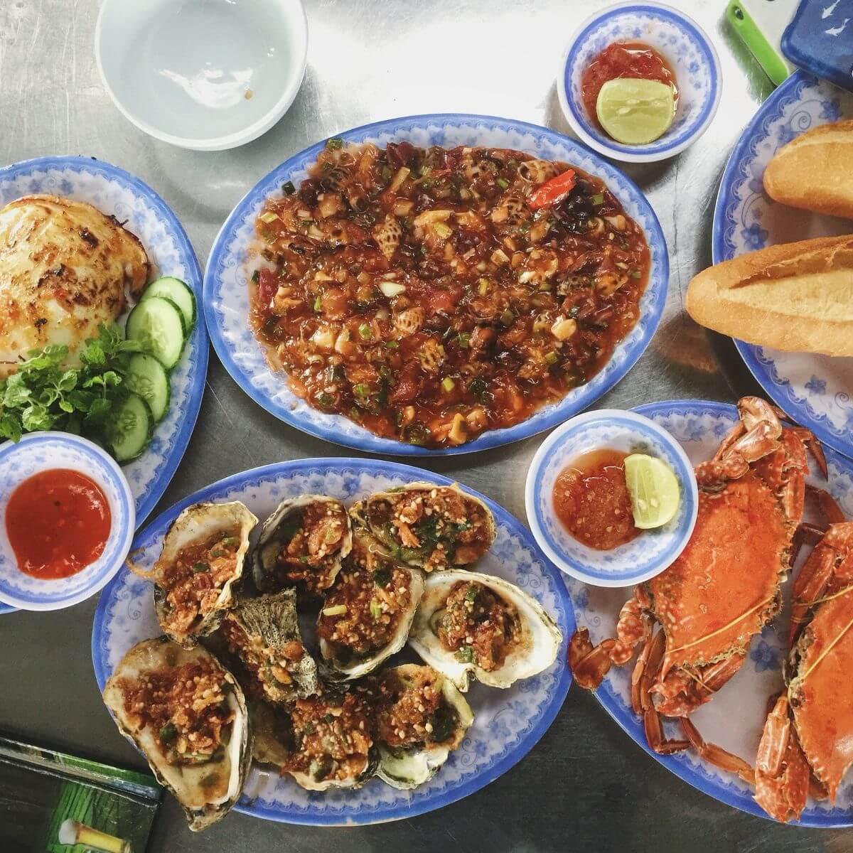 Quán hải sản ngon ở Lý Sơn
