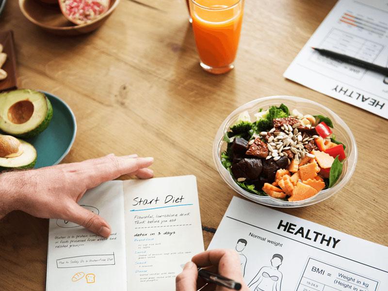 Các loại thực phẩm tham khảo cho nam giảm mỡ thừa